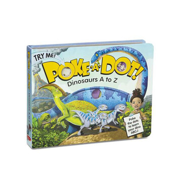 Dinosaur A to Z Poke-A-Dot Book