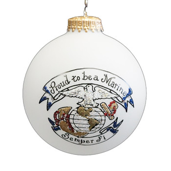 Marine Proud Ornament