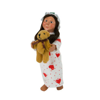 Toddler Girl With Teddy