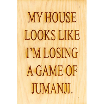 House Like Jumanji Magnet