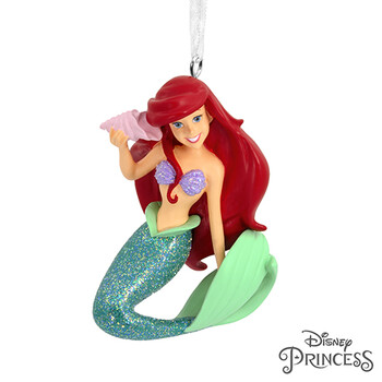 Disney The Little Mermaid Ariel With Seashell Christmas Ornament