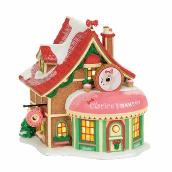 North Pole Village - Clarice's North Pole Bakery