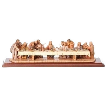 5.25'' Last Supper Life Of Christ
