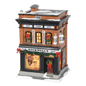 Original Snow Village - Rockwell 5 & 10