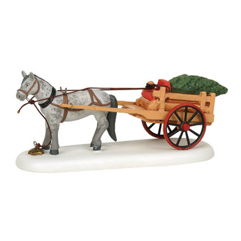 New England Village - Christmas Delivery