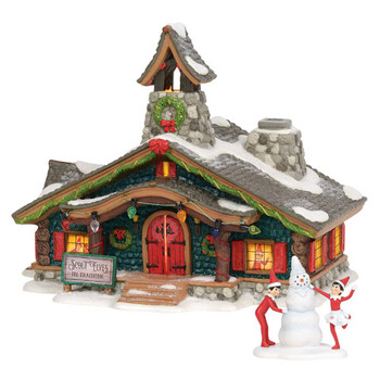 North Pole Village - Elf On The Shelf - Scout Elves In Training