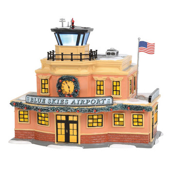Original Snow Village - Blue Skies Airport