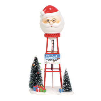 Village Accessories - Santa Water Tower