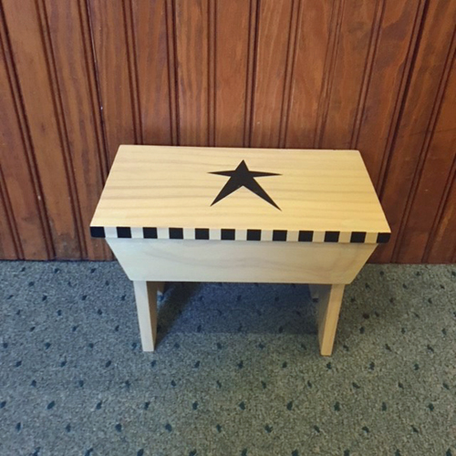 Medium Wood Bench