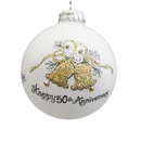 50th Anniversary Ball Ornament
