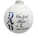 Dad First Love Ornament