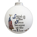 Land Free/loved Ornament