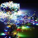 44' Cluster Light Garland Multi Colored