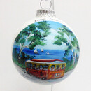 Dc Trolley Glass Ball Ornament