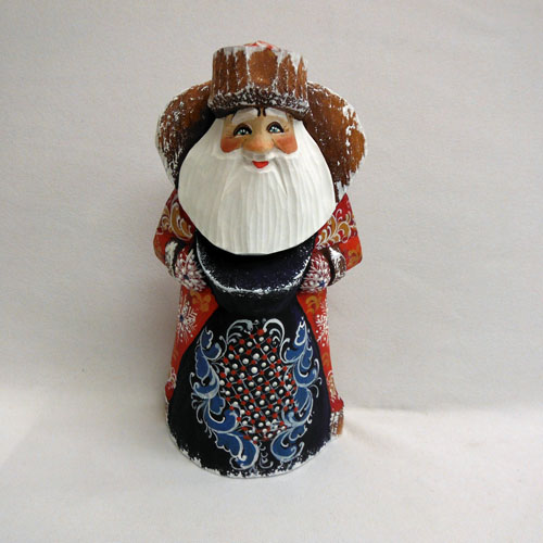 Red Santa With Blue Bag