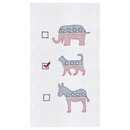 Cat Political Party Flour Sack Towel