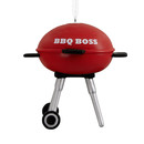 Bbq Boss Grilling Christmas Ornament