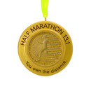 Own The Distance Half Marathon Christmas Ornament