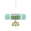 Yoga Mat Christmas Ornament