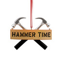 Hammer Time Handyman Christmas Ornament