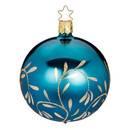Md Light Vinetage Blue Ball With Gold