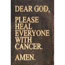 Dear God...cancer Magnet