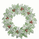 Holly Wreath Ornament