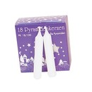 Large White Candles (18 Pieces)