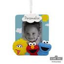 Sesame Street Personalized Photo Frame Christmas Ornament