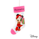 Disney Minnie Mouse Stocking Personalized Christmas Ornament
