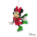 Minnie Mouse Skating Ornament