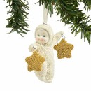 Dream Two Gold Stars Ornament