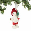 Snowbabies Toting The Tree Ornament