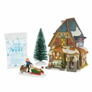 Christmas Carol Poulterers Shop Set