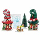 North Pole Village - Merry Lane Cottages Box Set