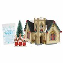 Snow Village - Golden Cross Church Box Set