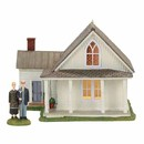 New England Village - American Gothic (set of 2)