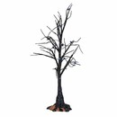 Halloween Village - Black Light Bare Branch Tree