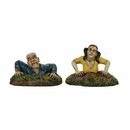 Halloween Village - Rising From The Dead (set of 2)