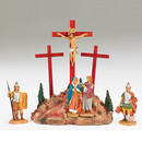 13'' Led Crucifixion Scene (4pc)