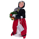 Colonial Woman Red/black