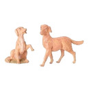 12'' Dog Set (2 Pc)