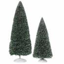 Bag-o-frosted Topiaries Set Of 2