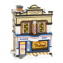 Original Snow Village - Flattop Barbershop