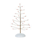 Village Accessories - Red Twinkle Brite Tree