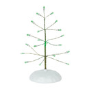 Village Accessories - Green Twinkle Brite Tree