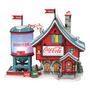North Pole Village - Coca-cola Bubbler