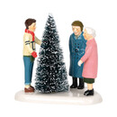 Original Snow Village - Choosing The Perfect Tree