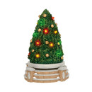 Village Accessories - Lit Rotating Festive Tree