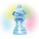 Village Accessories - Lit Ice Castle Santa